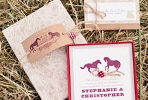 Rustic Wedding Invitations / Invitations perfect for a rustic or country wedding. From burlap to nature inspired designes all of these invitations will work perfectly for your rustic or country wedding.