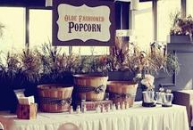 food popcorn bar