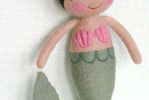 Audrey wants a mermaid doll!