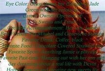 Women of Sapphire Springs Novels / Character bio-pics of the women of Sapphire Springs Novels