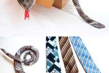 reciclagem gravatas