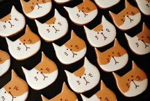 Decorated Cookies - Cats