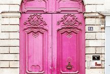 Beautiful houses and doors