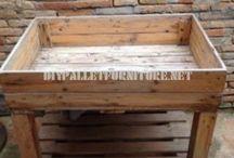 palette de bois projet