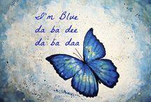 I'm blue da ba dee da ba daa / Una semplice cenetta al lungomare con amici di famiglia. E dato che il blu è un colore che va sempre di moda (e che mi piace particolarmente con l'abbronzatura) ecco a voi un nuovo outfit :)