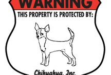 Chihuahua Signs and Pictures / Warning and Caution Chihuahua Signs. https://www.signswithanattitude.com/chihuahua-signs.html