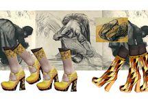 """""""Clog clog"""" / PRADA S/S 2015  """"Quello che spero di non dimenticare è che: """" è questione di andare in giro con gli zoccoli"""", cioè di accontentarsi nel mangiare, nel bere, negli abiti, nel dormire, di ciò di cui si accontentano i contadini""""  Vincent Van Gogh  See the complete article on www.theworkilove.it"""