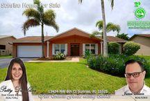 Sunrise, FL Homes For Sale By Broker Patty Da Silva