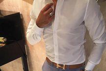 smart casual classic white
