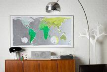 Living Room Design / Interior Design inspiration to brighten up your living room.