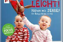 Nähen mit Jersey - Babyleicht! / Pins passend zu meinem Baby-Nähbuch