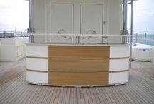 Nautical Design / interior and exterior design of luxury yachts