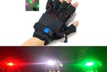 Einzigartige laser handschuhe