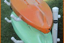 kayak storage
