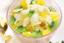 Recetas- frutas, vegetables