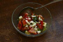Salate und Salat-Saucen