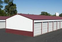 Mini-Warehouse Buildings / If your building is for business, you'll appreciate how an FBi light industrial building or commercial building can turn a quick ROI. It all starts with an affordable, post-frame construction method, which is considerably less expensive than convention stud wall or block construction.