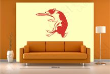 Detailed Silhouette Wall Decals / What is a Silhouette? A silhouette is the image of a person, animal, object or scene represented as a shape of a single colour, usually black, with its edges matching the outline of the subject. The interior of a silhouette is featureless, and the whole is typically presented on a light background, usually white or none at all. We offer 13 different vibrant colures both for internal (non-permanent adhesive) and external permanent adhesive. See our gallery of over 1200 images and growing weekly!