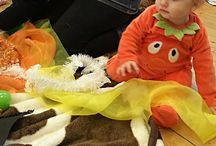 Baby sensory play ideas / Some of the things we've been having fun with at Baby ARTventurers......