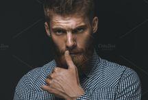 Bearded /  It's a beard and stylish