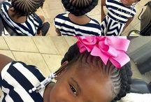 Khumo's hairstyles