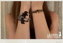 Le Chat Accessories / I made this board in order to exhibit my handmade jewelry creations. You can find Le Chat Accessories on facebook and instagram as well. © Danae Lolou