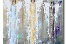 Pinturas de ángel