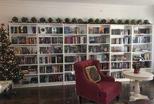 bookshelf goals!