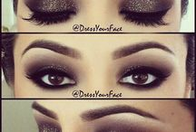 makeup ideas for brown eyes dramatic