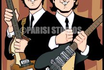 My Beatles Art / Here is a sampling of some Illustrations I have created of the The Beatles.