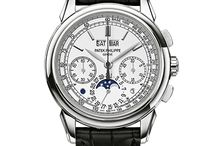 Patek Philippe Watches / Patek Philippe was established in 1839 and its watches are designed and hand crafted to be the finest timepieces in the world.