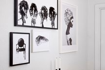 INTERIORS | adorn my walls / Ways to personalise any space - prints, gallery walls, pictures, art and quotes