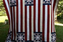 Quilts  Patriotic QOH / by K G