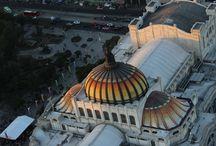 Vista panorámica de la ciudad de México / Estás fotografías son una vista panorámica de la Ciudad de México