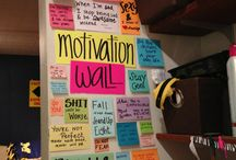 motivate me wall!