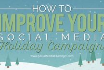 Christmas Ideas for Social Media / Getting ready for Christmas.