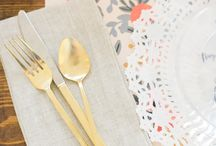 Entertaining With Chinet / The prep work. The place settings. The party. When you've been around as long as Chinet has, you learn a thing or two about entertaining. We invite you to check out a few of our favorite ideas. / by SMP Living