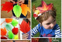 Autumn Crafts for Kids / Autumn and Fall themed craft, art and activities for kids.