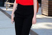 Outfit pantalon negro