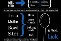 Infographic Recipes / What's the best way to enjoy a #recipe, an #infographic of course :-)