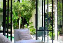 Вид с окна, балкона для шкафа