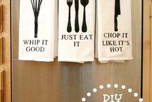 Tea Towels / Inspiration on design ideas we can help create you! Happy Days