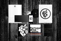 Portugal Wine Castes / Criação de Nome, Marca, Estacionários, Rotulagem para garrafas de vinho e respetivas marcas.