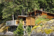 Vacation Rental Cabin / The Cabin Club at Shawnigan Lake on Vancouver Island BC Canada
