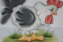 pintura em tecido/bordado