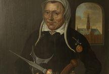 Werkfoto's - Portretten / Restauratie van schilderijen - 16de / 17de / 18de eeuwse portretten