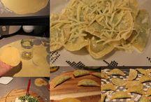 Ispanaklı Ravioli Cafebella / İtalyan mantısı ravioli (ravyoli) ıspanaklı ev yapımı