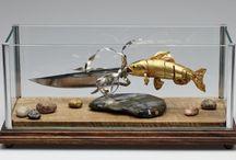 Ножи, клинки, сабли и композиции / Самые необычные композиции с ножами (клинками) для продажи