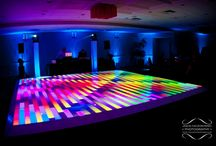 LED Lighted Dance Floor / Wow your guests at your wedding or special event with a lighted dance floor from Chicago DJ MDM Entertainment. http://www.mdmentertainment.com