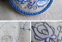 knitting, croching etc.